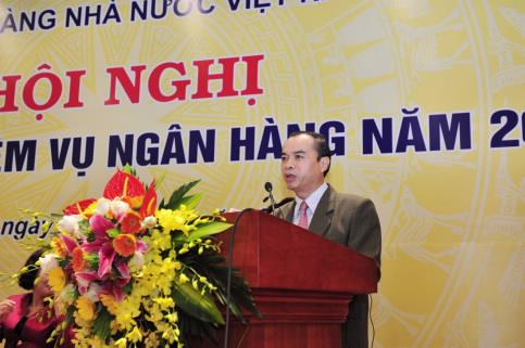 Phó Thống đốc Nguyễn Đồng Tiến phát động phong trào thi đua