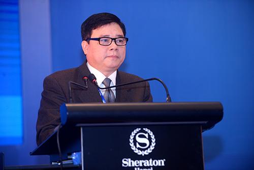 Ông Bùi Quang Tiên, Vụ trưởng Vụ thanh toán điện tử.