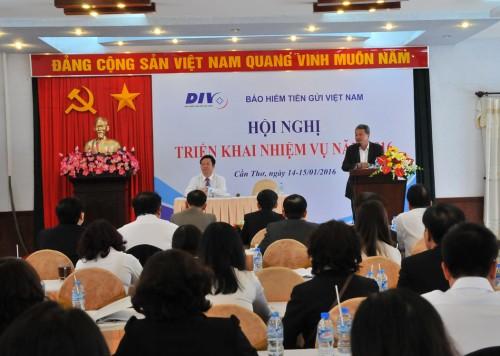 Bảo hiểm tiền gửi Việt Nam triển khai nhiệm vụ năm 2016