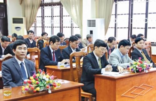 Hội nghị triển khai nhiệm vụ ngành Ngân hàng tỉnh Vĩnh Phúc năm 2016