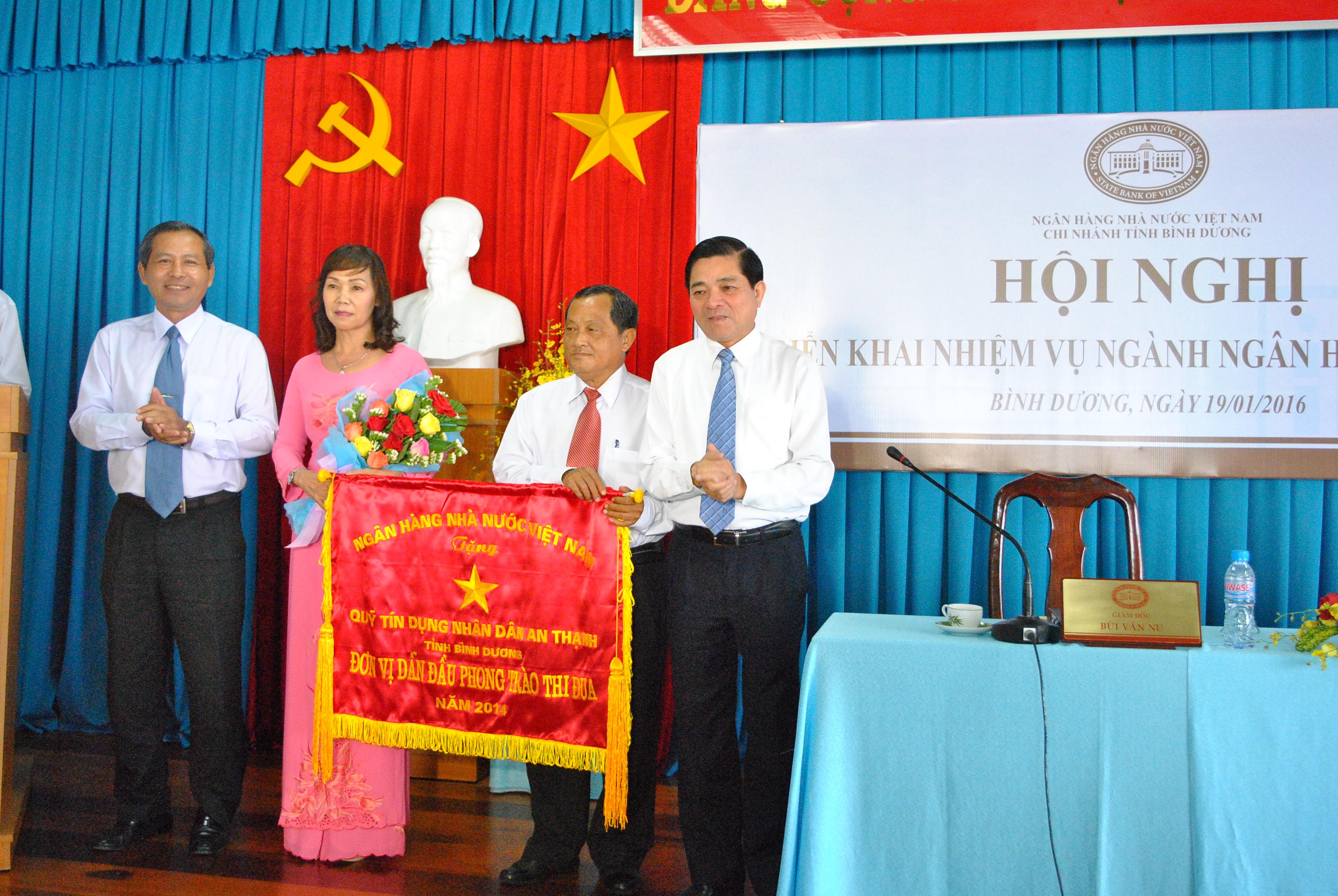 Ông Trần Thanh Liêm Phó chủ tịch UBND tỉnh tích cực đẩy mạnh tăng trưởng tín dụng nhưng vẫn đảm bảo các quy định của chính phủ ngành