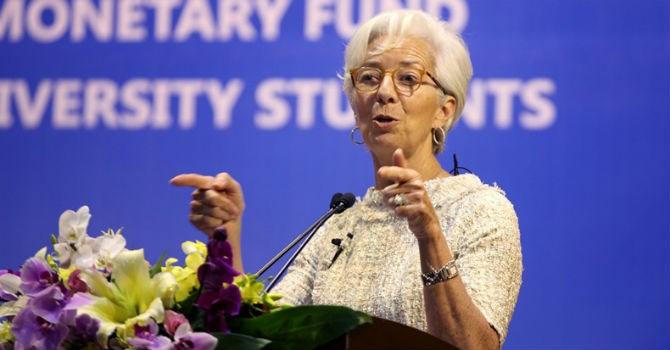 Bà Christine Lagarde, Tổng giám đốc điều hành IMF