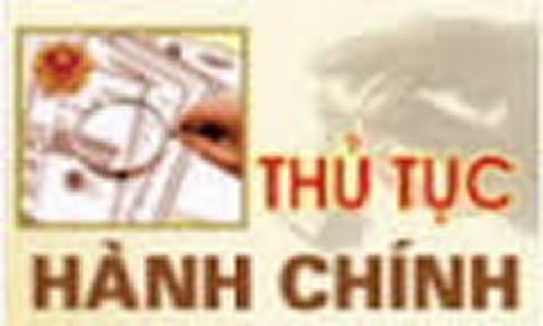 thu tuc hanh chinh ngan hang