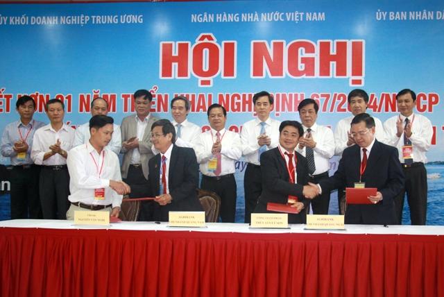 NHNNVN phối hợp Đảng ủy Khối DNTW và tỉnh Quảng Ngãi