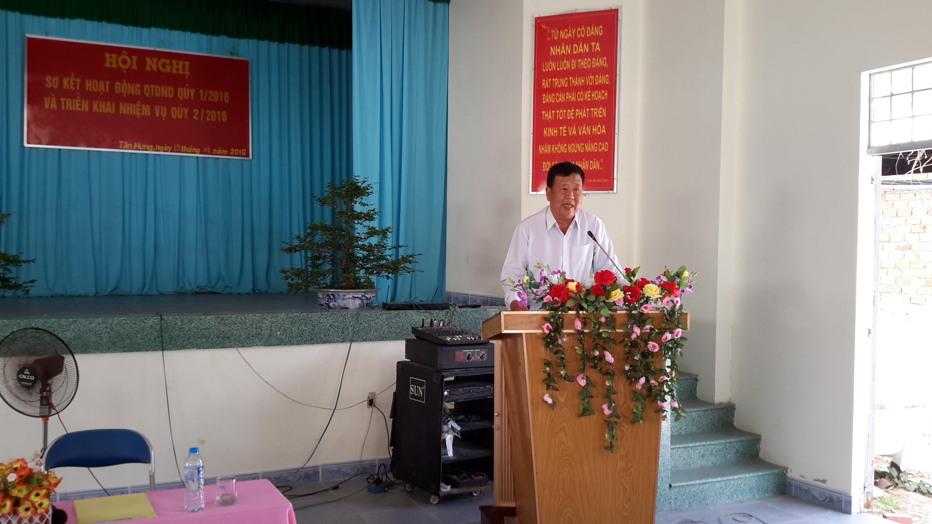 Ông Võ Thanh Nhã phát biểu chỉ đạo tại Hội nghị