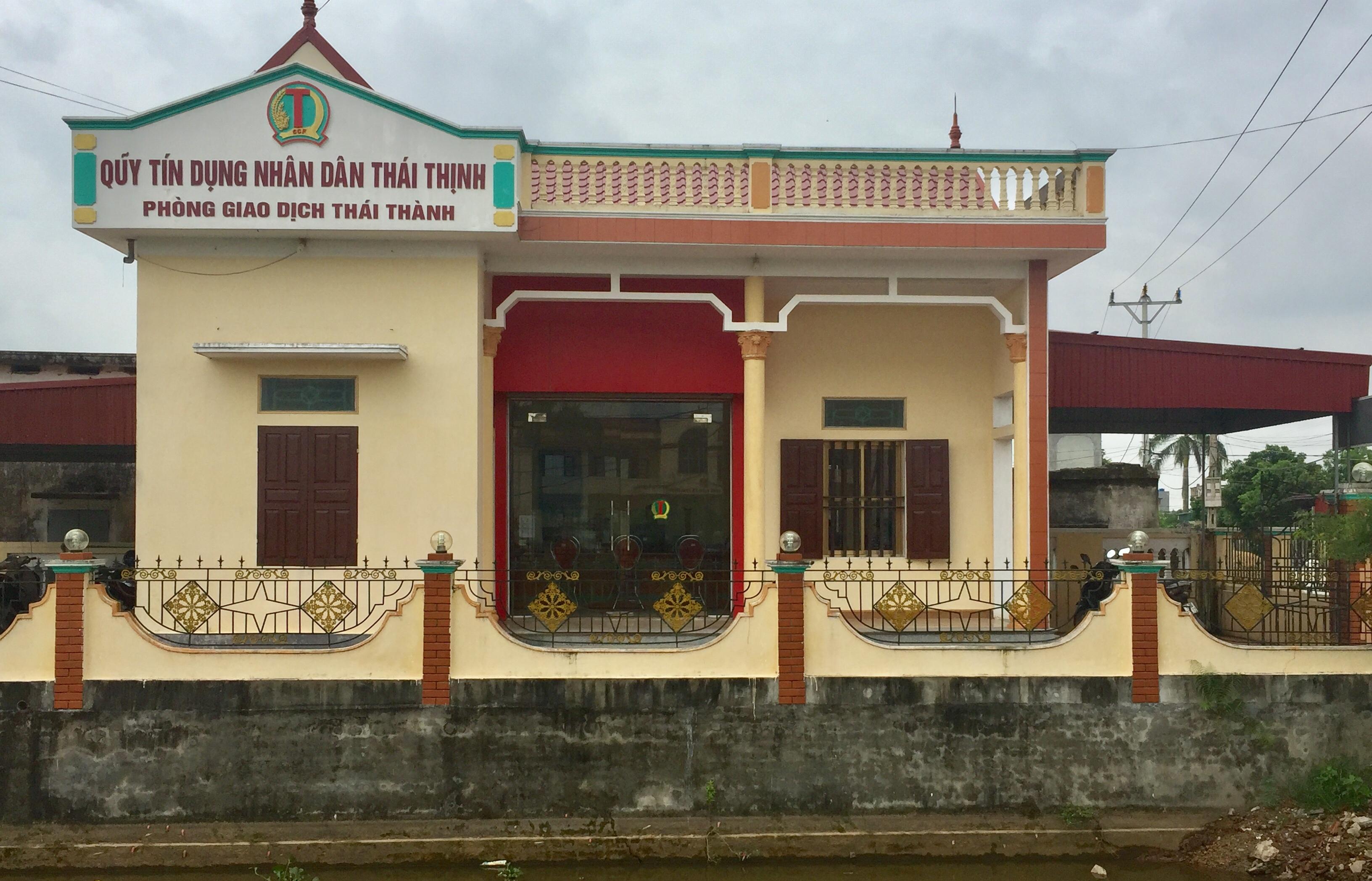 Phòng giao dịch xã Thái Thành