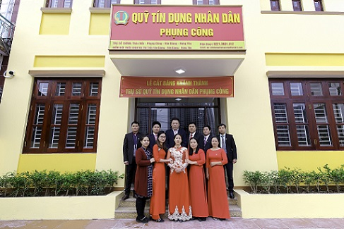 Tập thể cán bộ QTDND Phụng Công