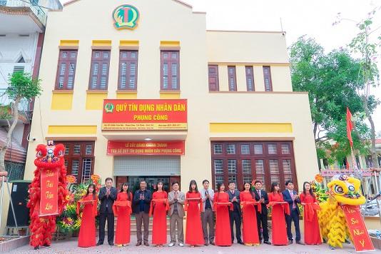 Ngày 16/01/2019, QTDND Phụng Công cắt băng khánh thành trụ sở
