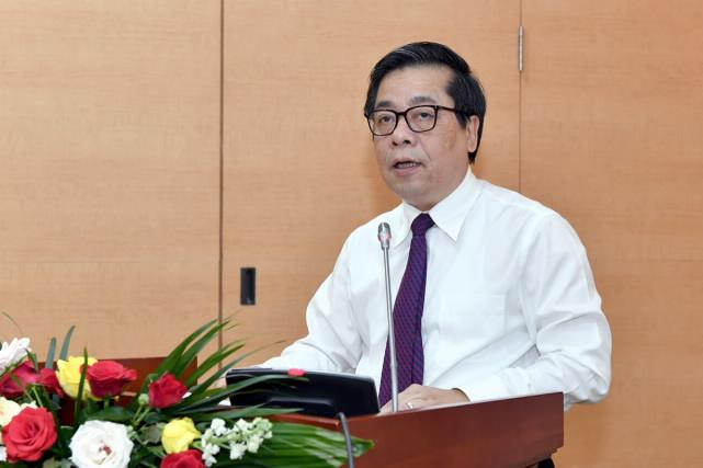 Phó Thống đốc NHNN Nguyễn Kim Anh phát biểu tại buổi lễ