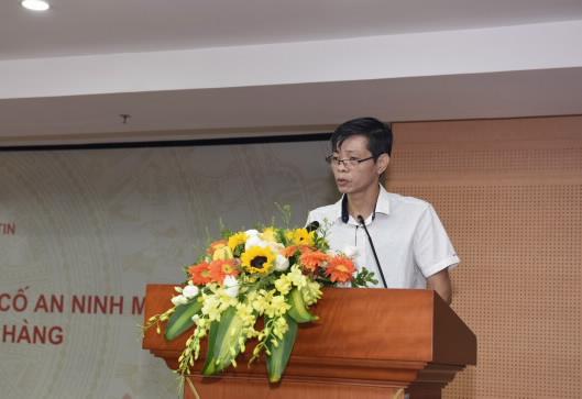 Ông Phạm Hồng Sơn - Phó Viện trưởng Viện 10, Bộ Tư lệnh 86 phát biểu tại buổi diễn tập