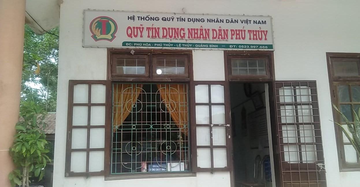 Trụ sở QTDND Phú Thủy - Quảng Bình