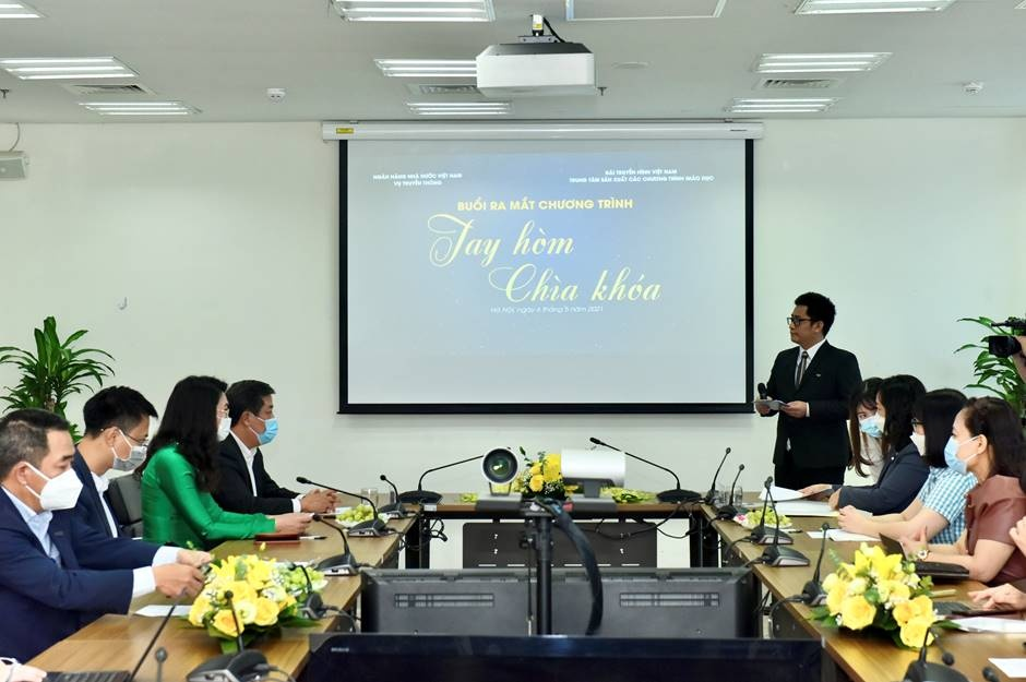 Quang cảnh lễ ra mắt chương trình Tay hòm chìa khóa